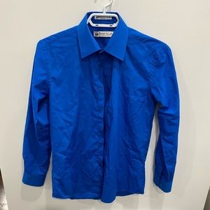 Size 14 boys button down shirt by Robert Allen - worn once / perfect condition
